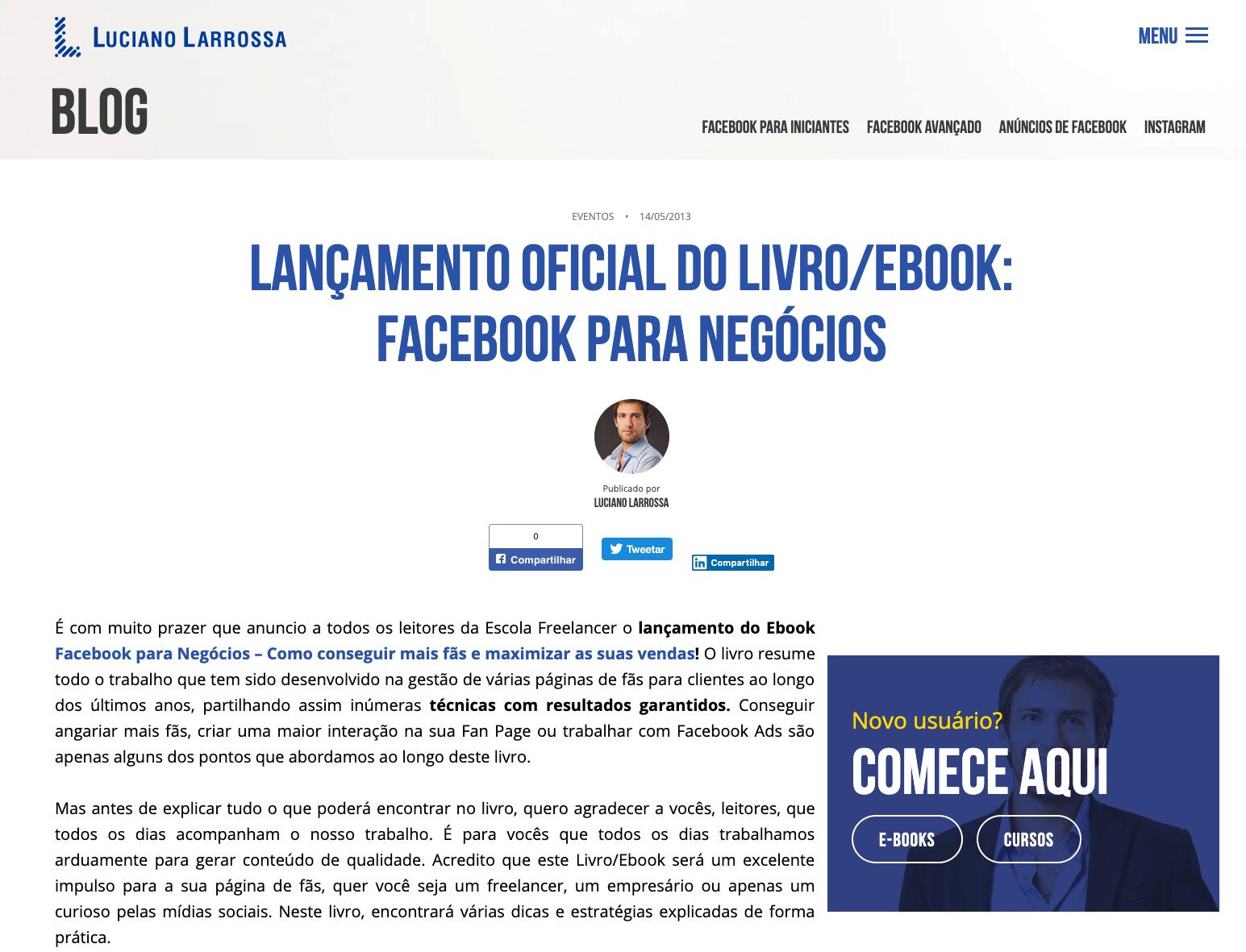 Livro Facebook para Negócios