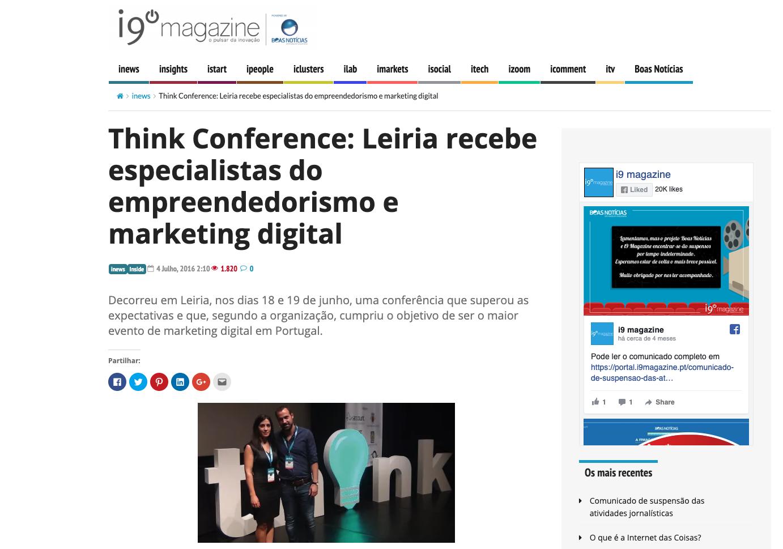 Think Conference I9 Magazine